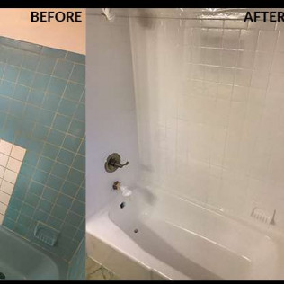 Wall Tile Refinishing